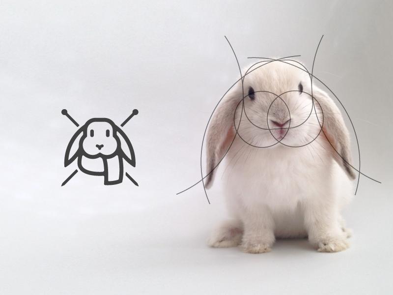 兔子元素logo 欣赏-第2张