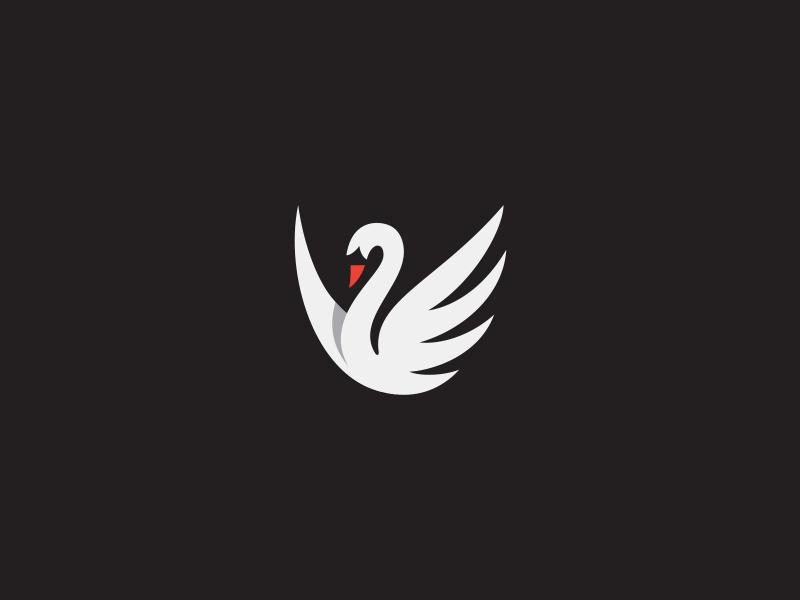天鹅元素logo 欣赏-第37张
