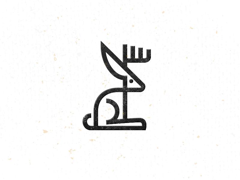 兔子元素logo 欣赏-第14张