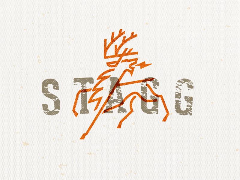 鹿元素logo 欣赏-第14张