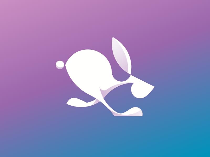 兔子元素logo 欣赏-第12张