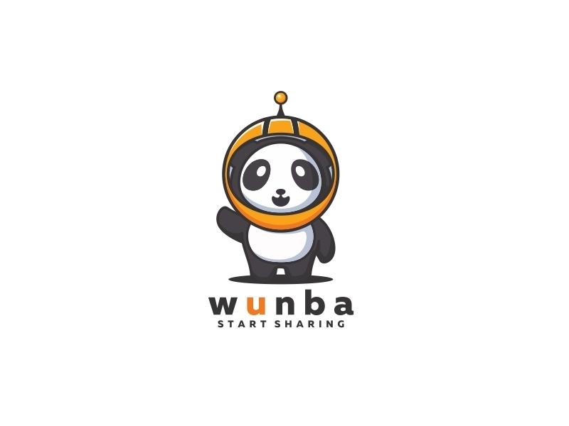 熊猫元素logo 欣赏-第13张