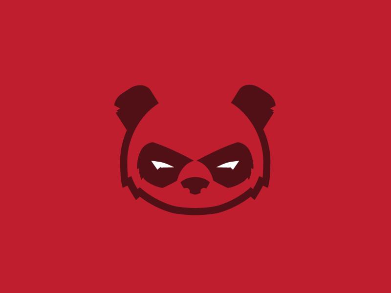 熊猫元素logo 欣赏-第16张