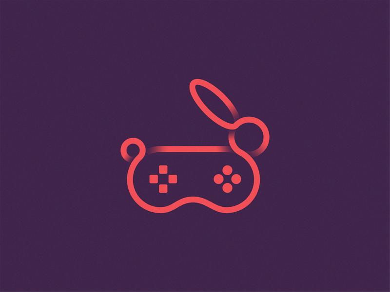 兔子元素logo 欣赏-第10张