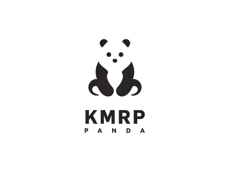 熊猫元素logo 欣赏-第7张