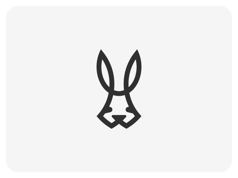 兔子元素logo 欣赏-第34张