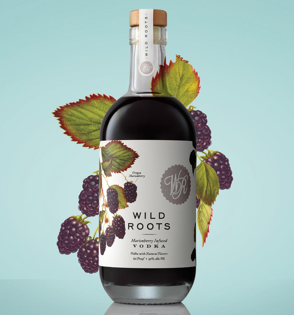 Wild Roots伏特加包装设计 欣赏-第3张