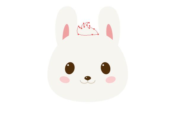 手把手教你用Ai绘制拿着郁金香的可爱兔子 教程-第11张