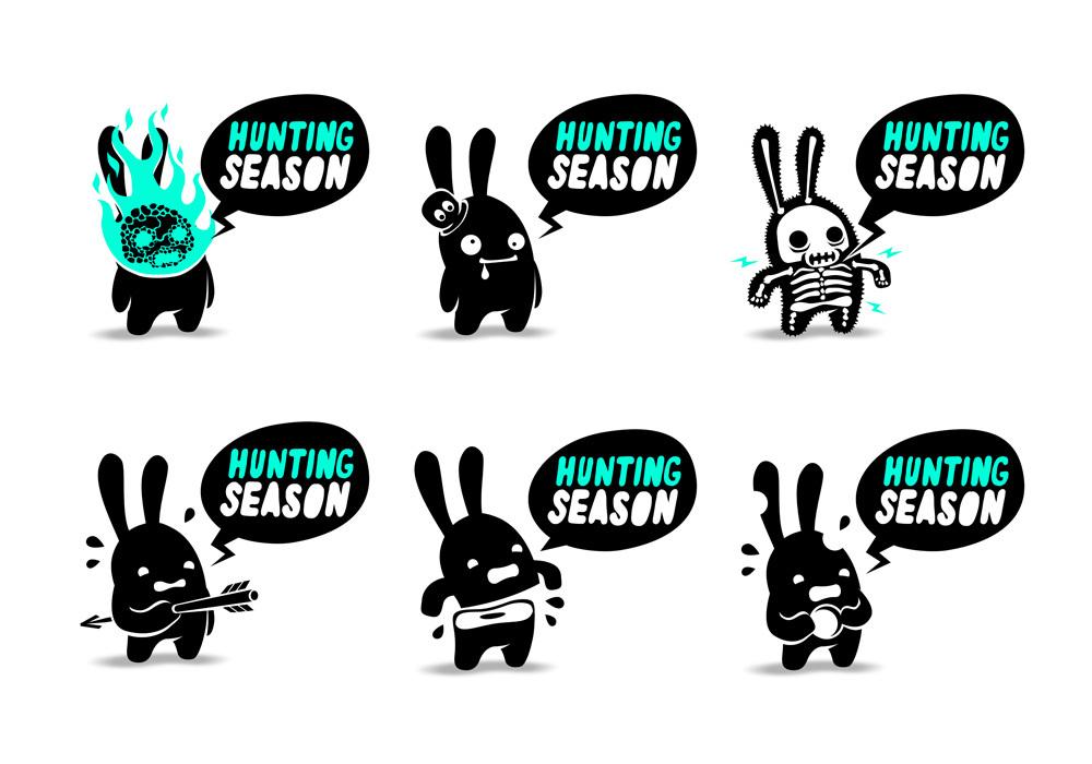 兔子元素logo 欣赏-第44张
