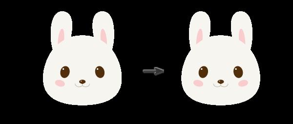 手把手教你用Ai绘制拿着郁金香的可爱兔子 教程-第10张
