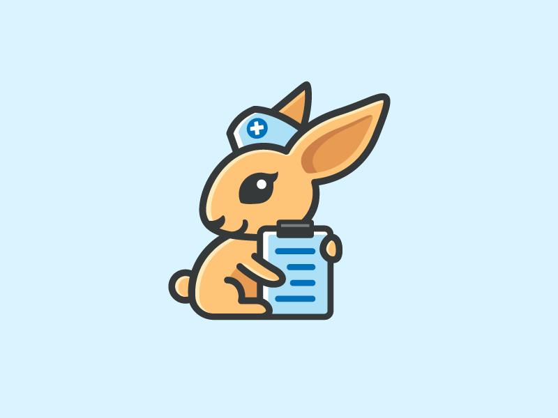 兔子元素logo 欣赏-第8张