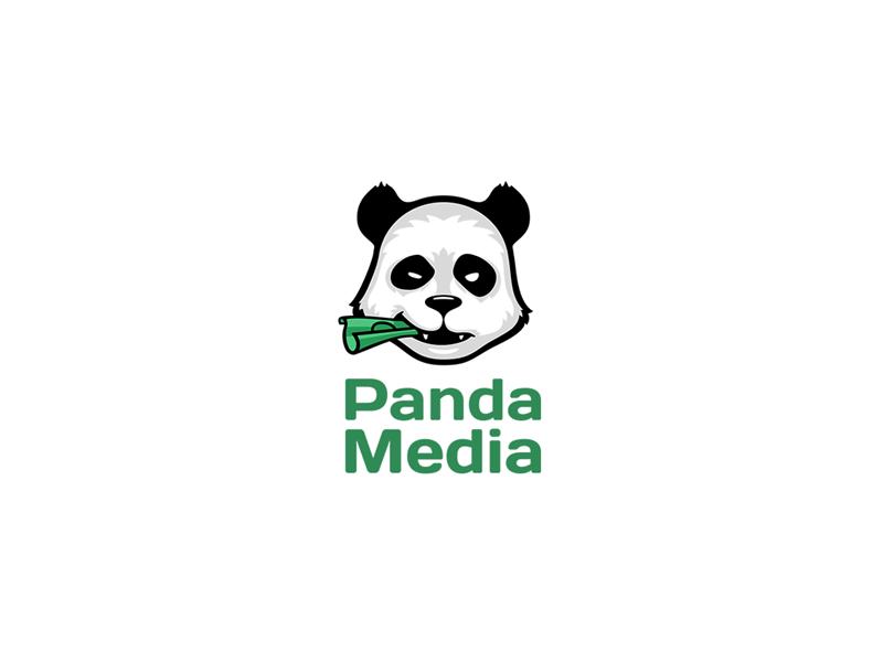 熊猫元素logo 欣赏-第8张