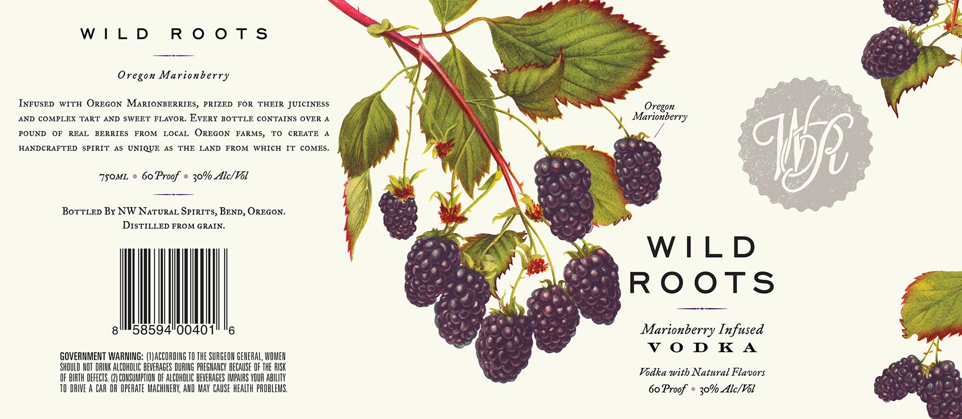Wild Roots伏特加包装设计 欣赏-第6张