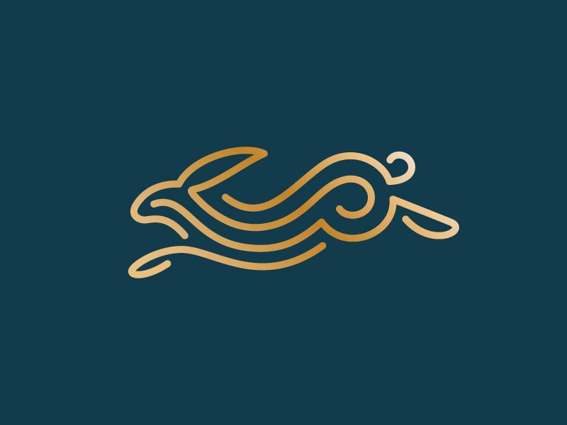 兔子元素logo 欣赏-第6张