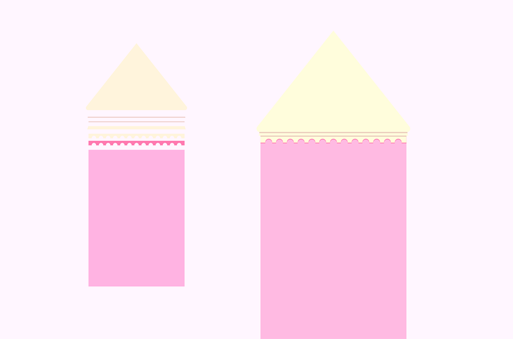 梦幻童话!绘制细节丰富的水上城堡群像 教程-第12张
