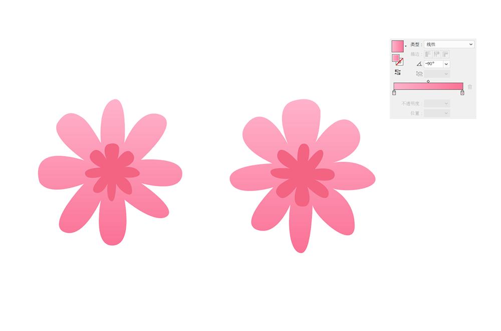 用AI绘制矢量花丛文字 教程-第1张