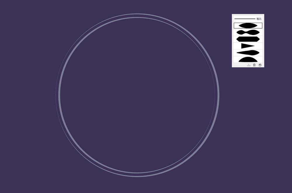用AI绘制矢量花丛文字 教程-第5张