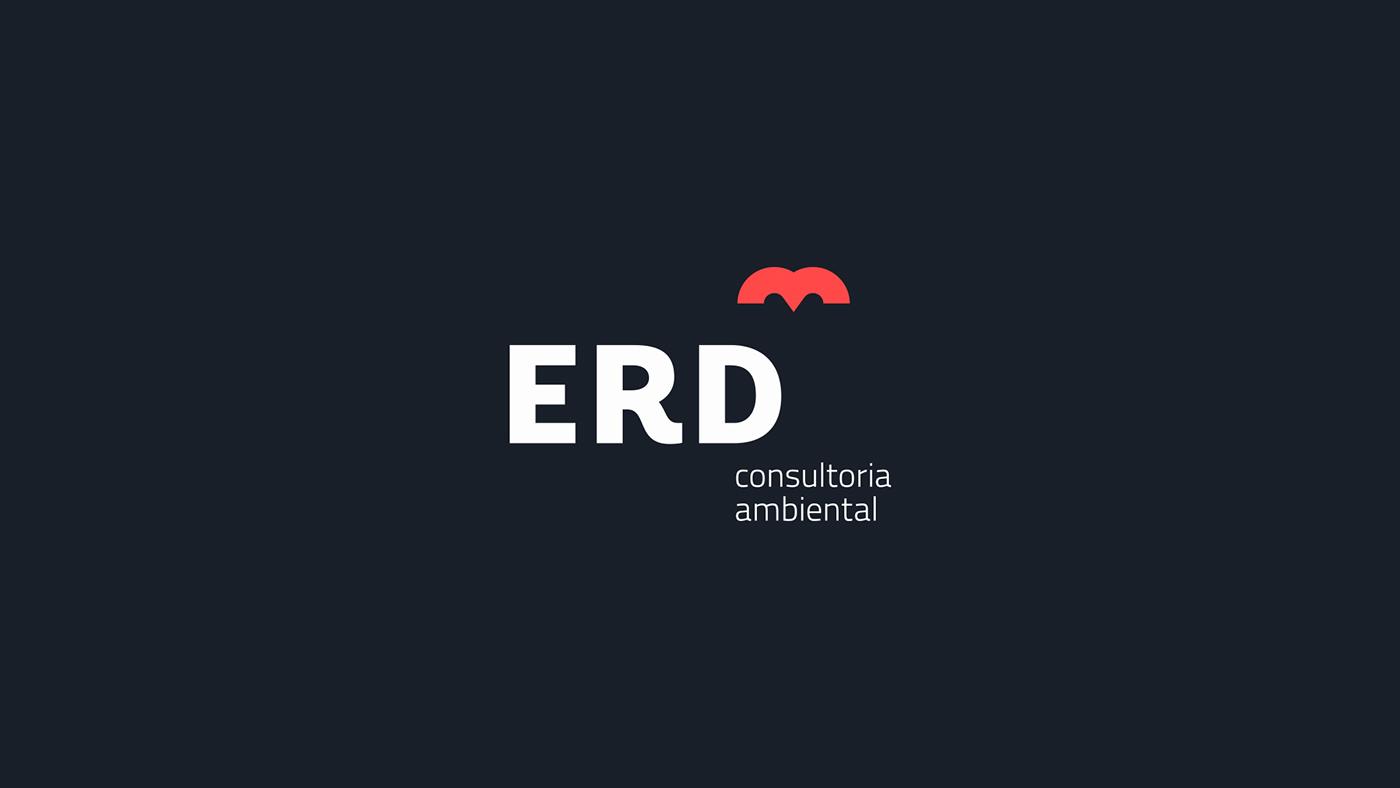 ERD环境咨询公司形象设计 欣赏-第4张