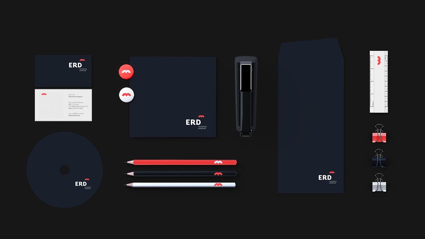 ERD环境咨询公司形象设计 欣赏-第8张