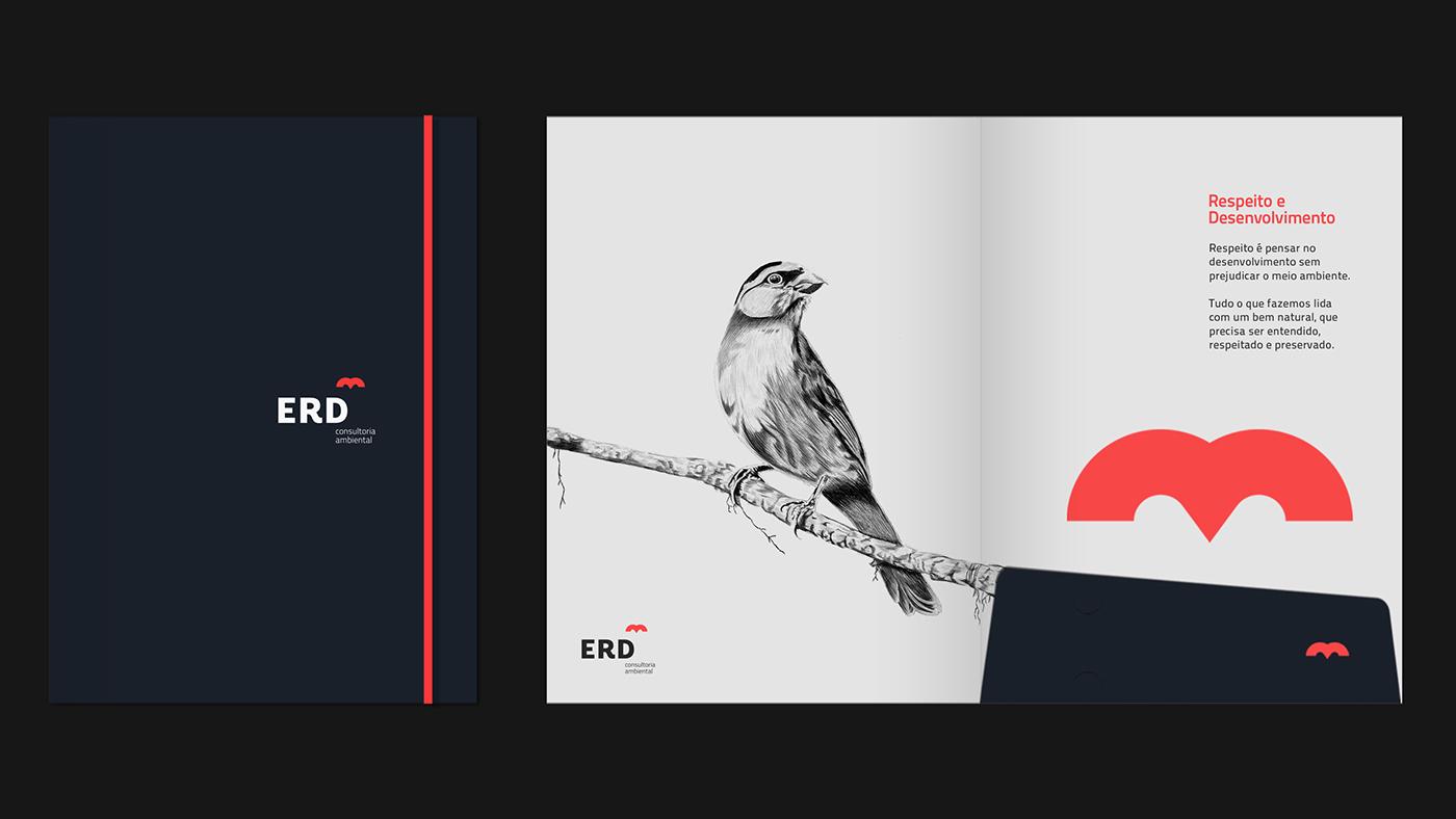 ERD环境咨询公司形象设计 欣赏-第9张