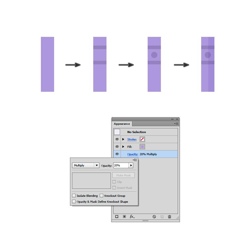 如何在Adobe Illustrator中创造扁平化置物架插图 教程-第4张