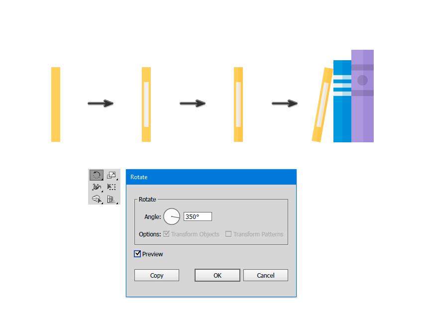 如何在Adobe Illustrator中创造扁平化置物架插图 教程-第6张