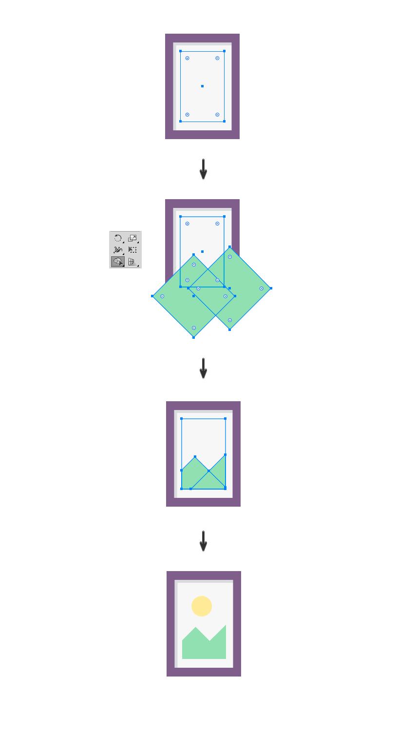 如何在Adobe Illustrator中创造扁平化置物架插图 教程-第16张
