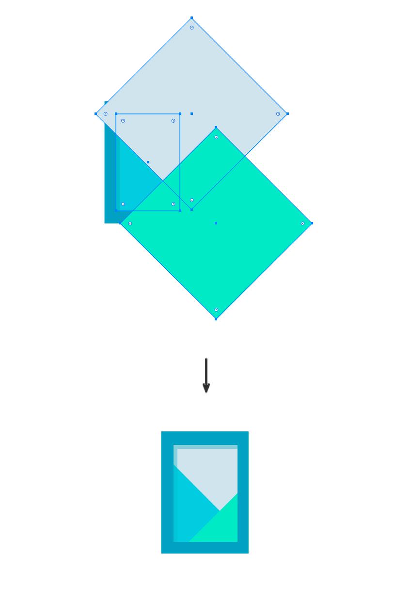 如何在Adobe Illustrator中创造扁平化置物架插图 教程-第18张