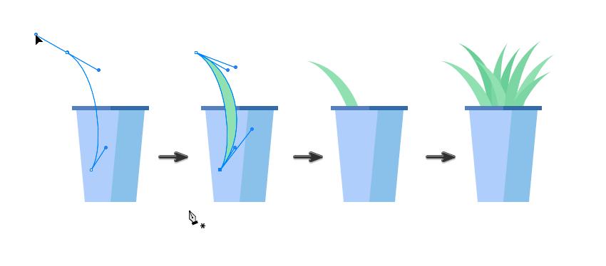 如何在Adobe Illustrator中创造扁平化置物架插图 教程-第24张