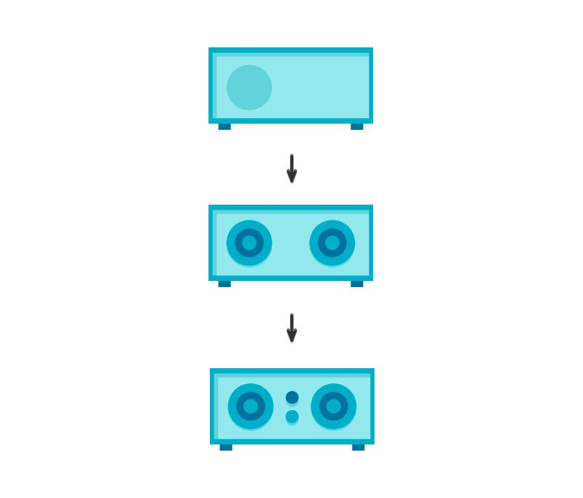 如何在Adobe Illustrator中创造扁平化置物架插图 教程-第26张