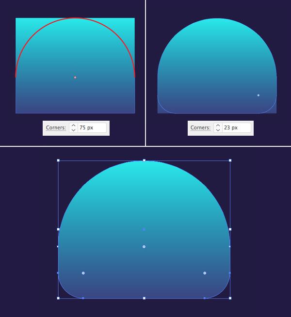 只要10个步骤在Adobe Illustrator中绘制可爱的发光水母 教程-第4张