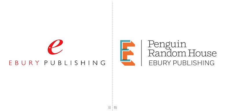 企鹅兰登书屋旗下出版社Ebury更换新LOGO 文章-第1张