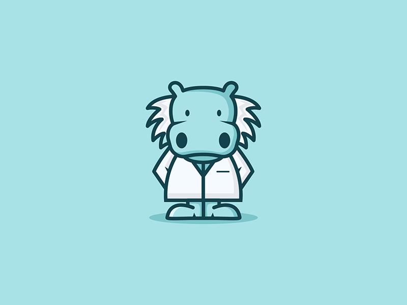 河马元素logo 欣赏-第42张