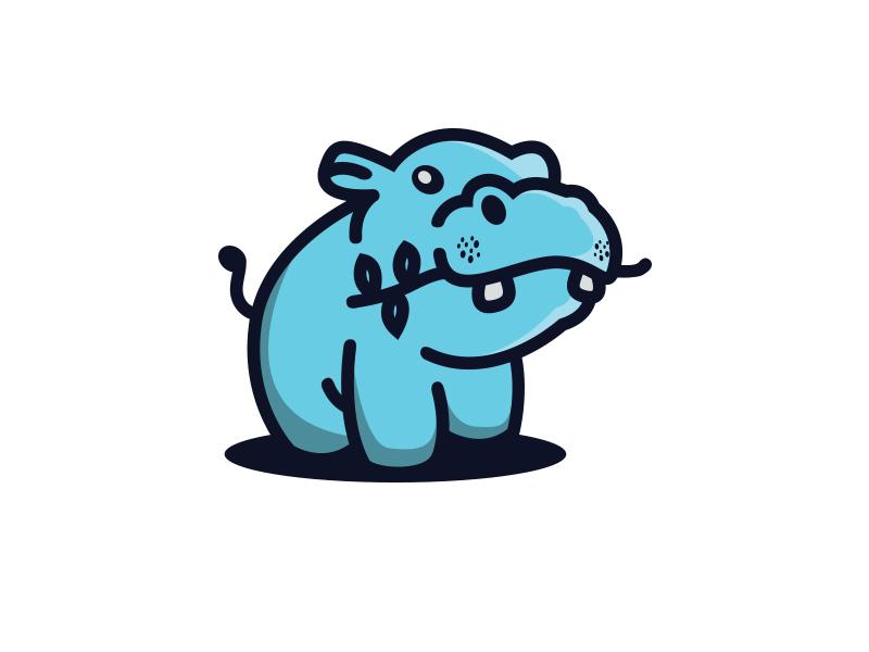 河马元素logo 欣赏-第39张