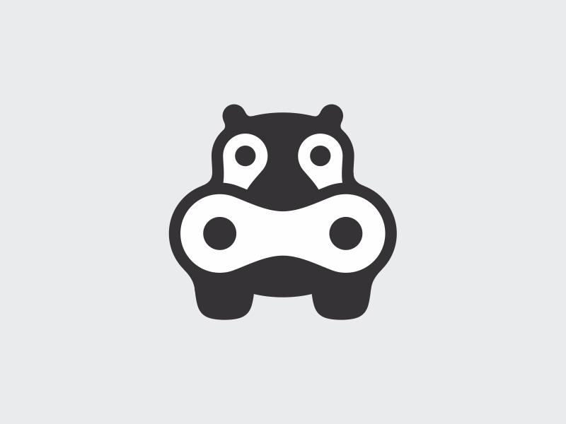 河马元素logo 欣赏-第27张