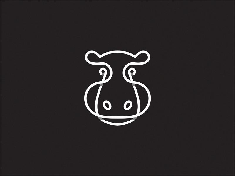 河马元素logo 欣赏-第14张