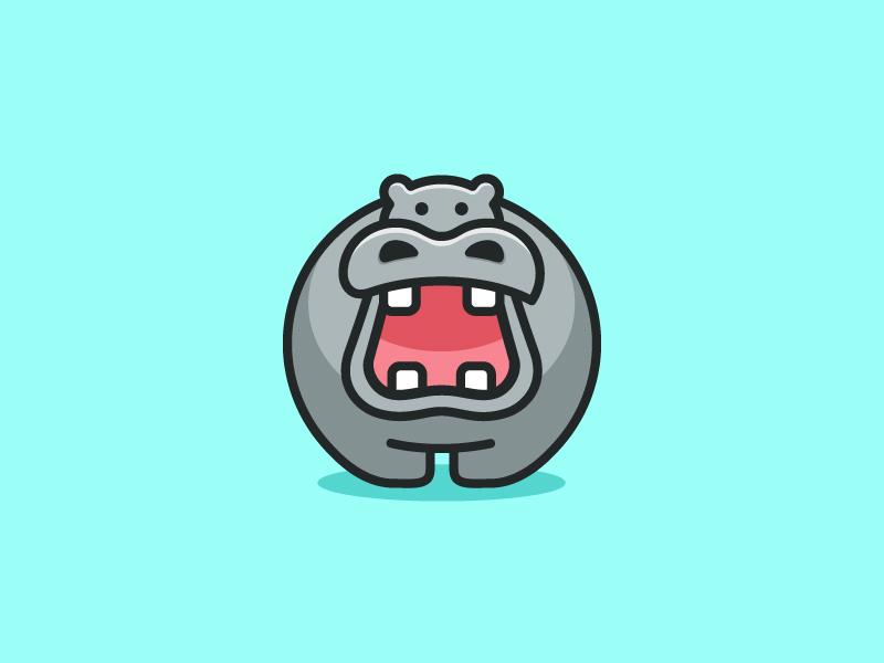 河马元素logo 欣赏-第23张