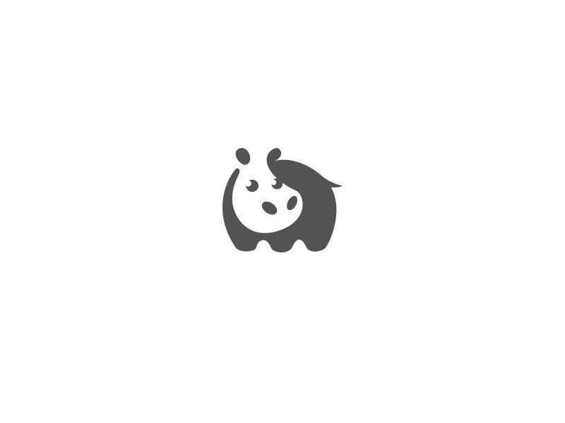 河马元素logo 欣赏-第18张