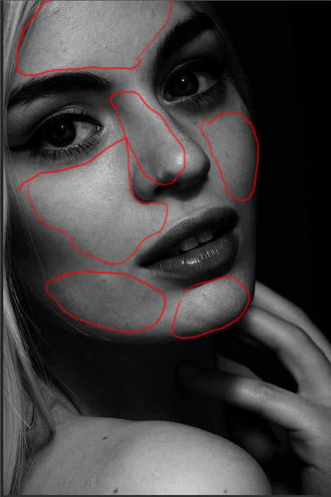 Ps用中性灰磨皮塑造剔透的人物肤色 教程-第5张