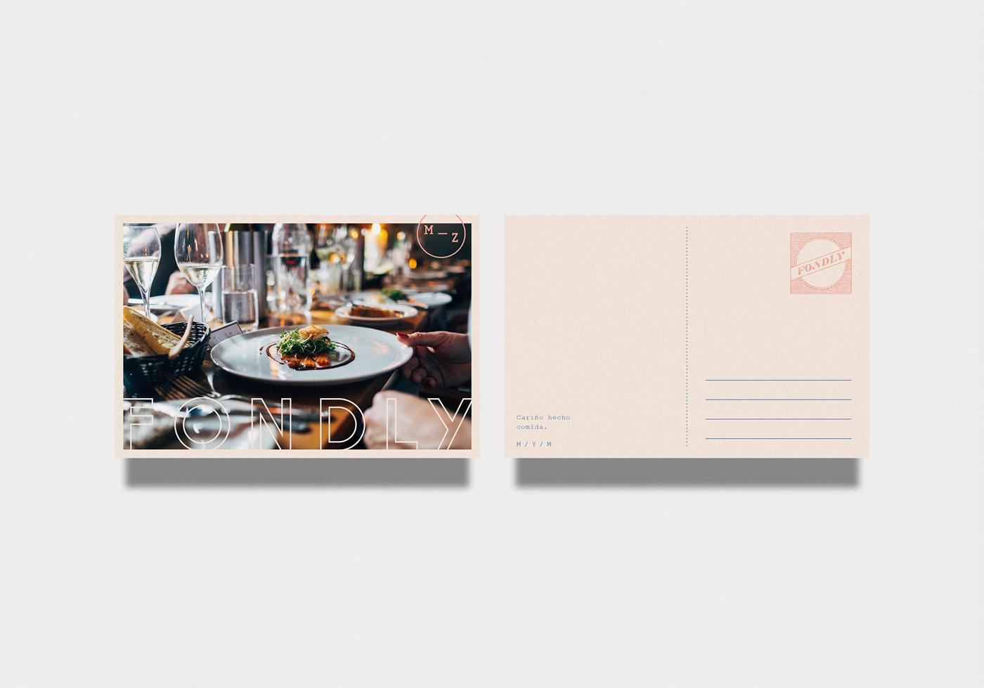 Fondly餐厅品牌设计 欣赏-第4张
