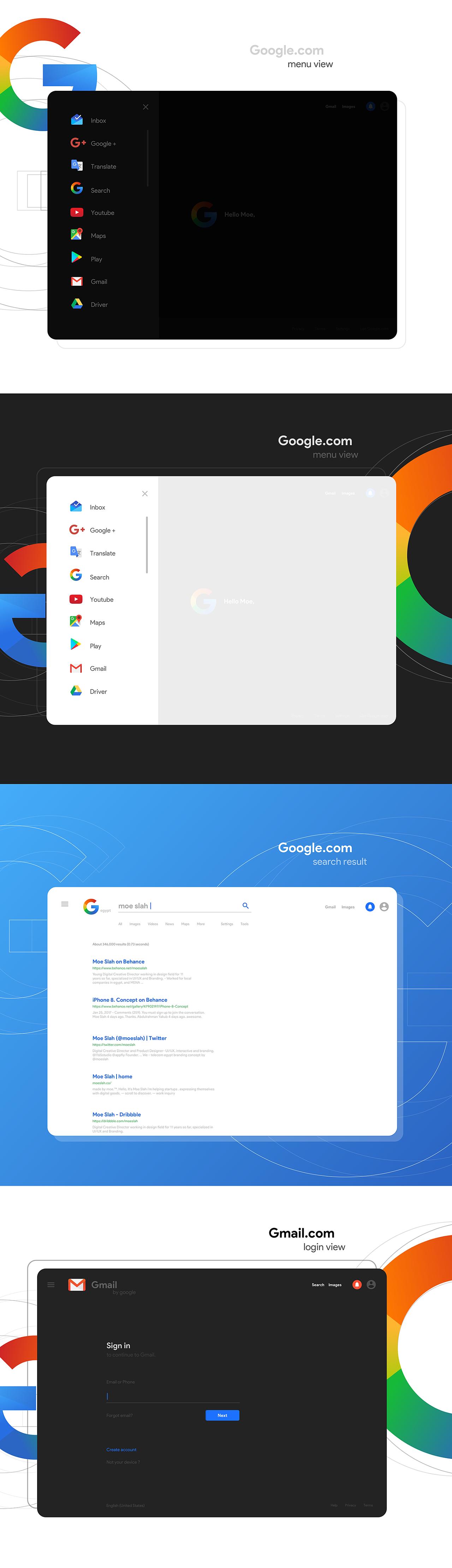 Google new look UI设计 欣赏-第5张