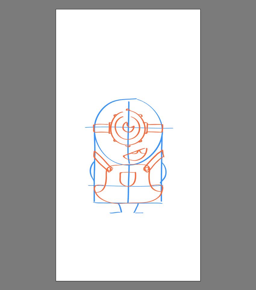 使用Adobe Illustrator绘制矢量小黄人教程 教程-第18张