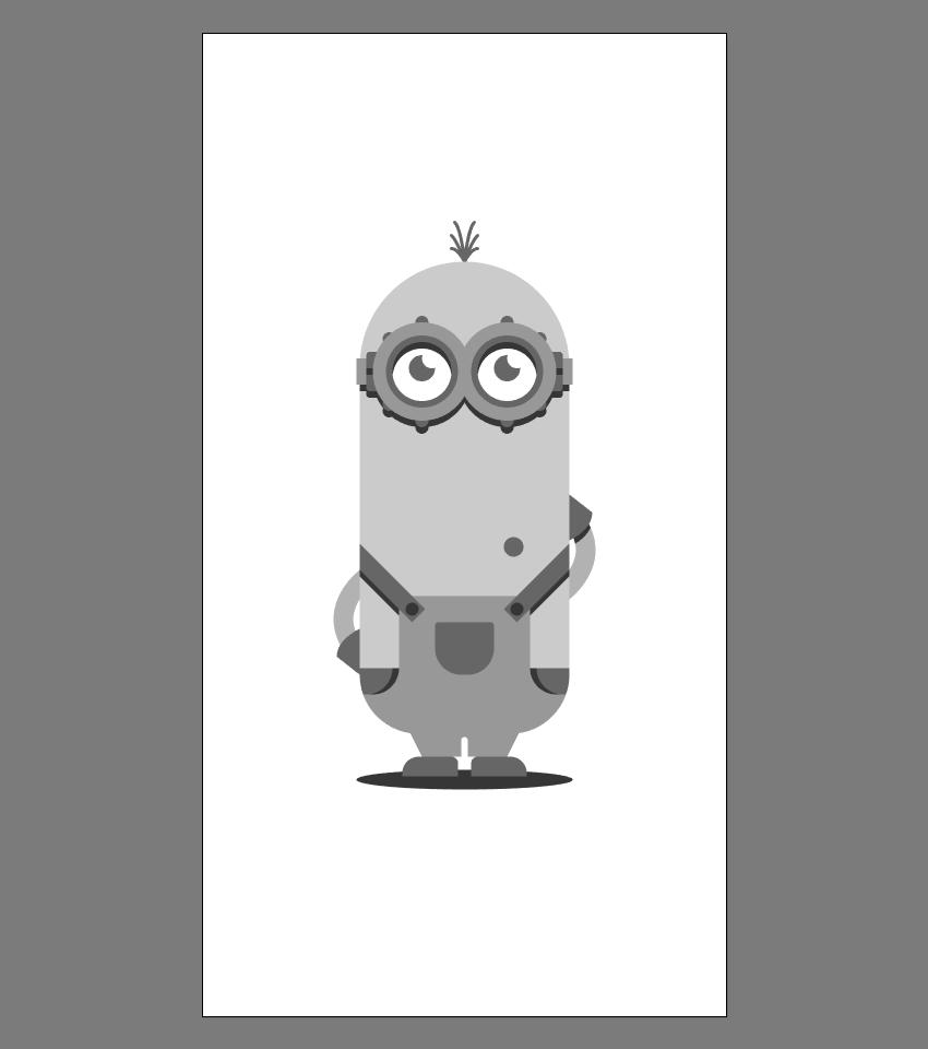 使用Adobe Illustrator绘制矢量小黄人教程 教程-第33张