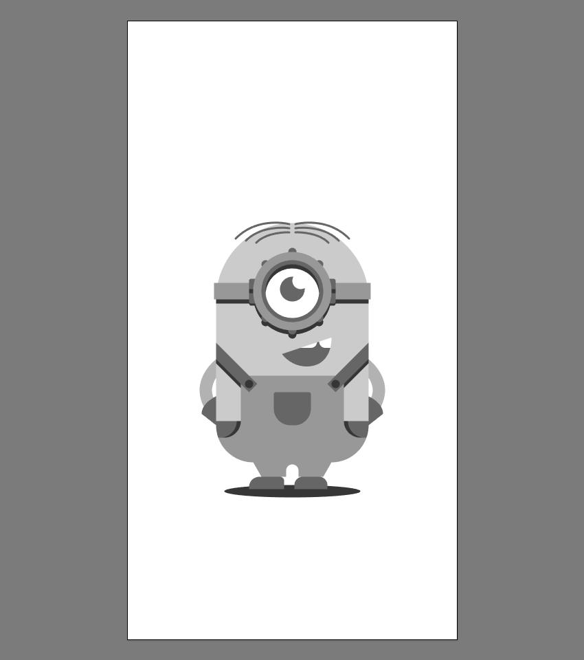 使用Adobe Illustrator绘制矢量小黄人教程 教程-第24张