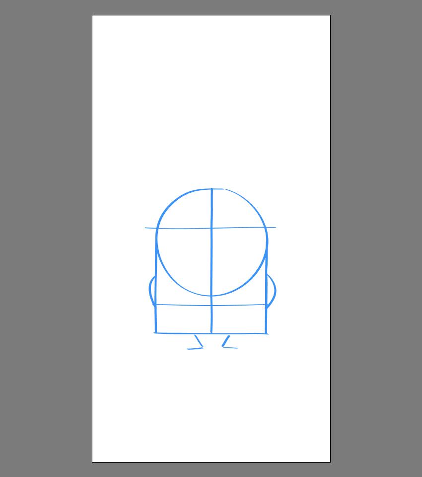 使用Adobe Illustrator绘制矢量小黄人教程 教程-第35张