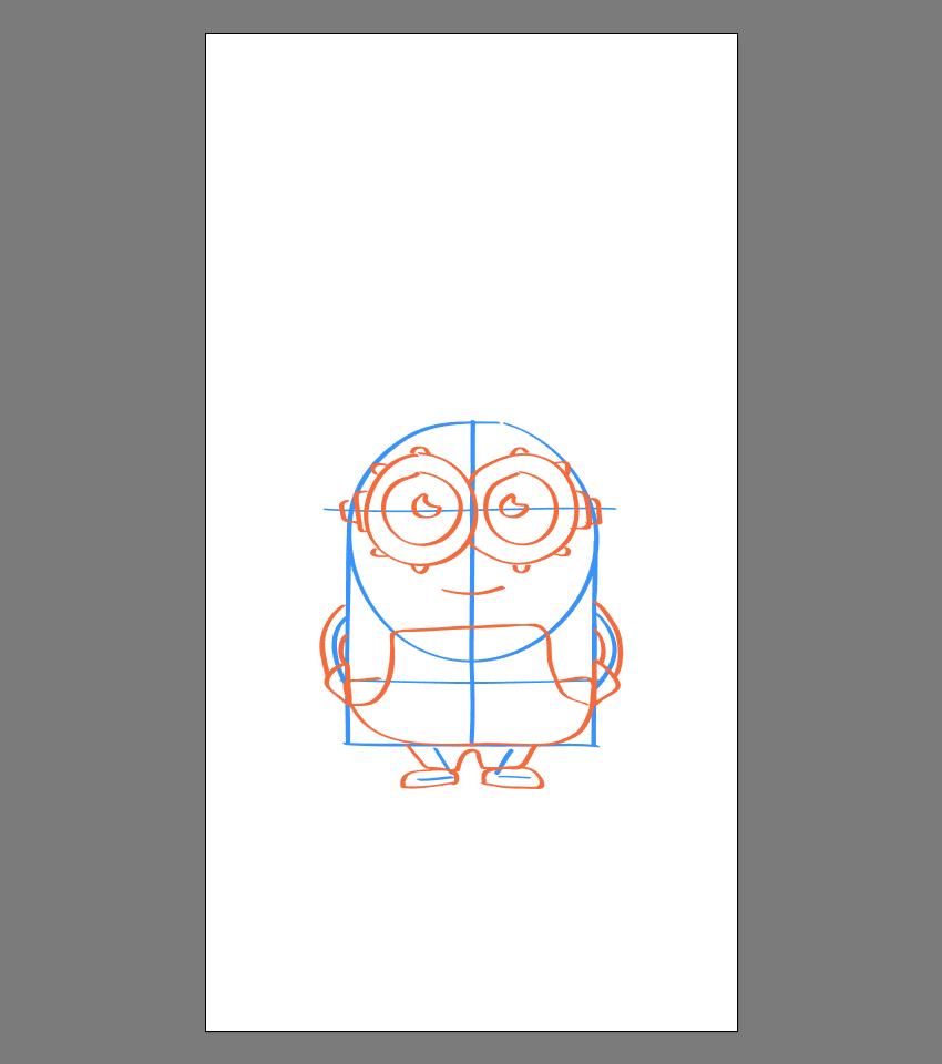 使用Adobe Illustrator绘制矢量小黄人教程 教程-第38张