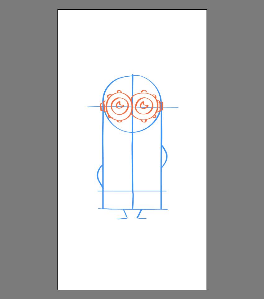 使用Adobe Illustrator绘制矢量小黄人教程 教程-第27张