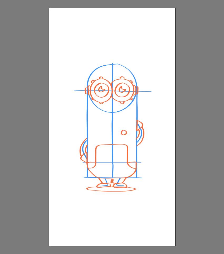 使用Adobe Illustrator绘制矢量小黄人教程 教程-第29张