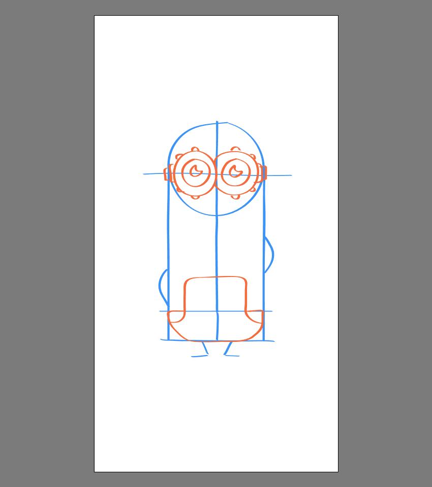 使用Adobe Illustrator绘制矢量小黄人教程 教程-第28张