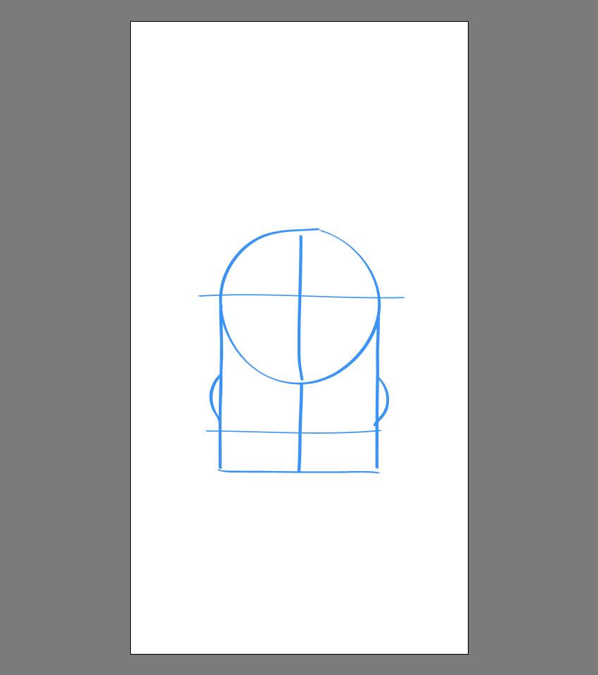 使用Adobe Illustrator绘制矢量小黄人教程 教程-第9张